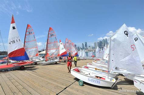 Highlights of CYA Sailing League in China's Shandong