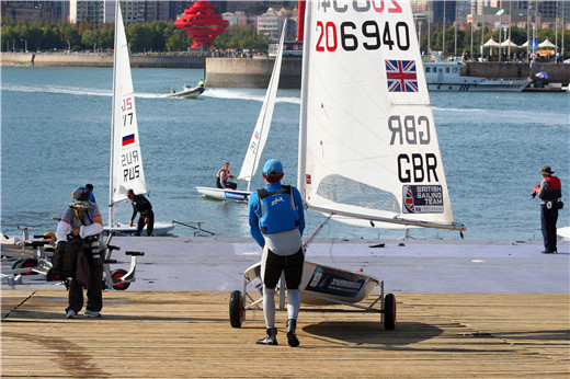 Highlights of 2016 ISAF Sailing World Cup in Qingdao