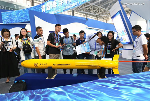 China Int'l Ocean Science & Technology Exhibition kicks off in Qingdao