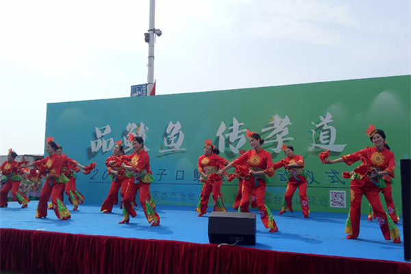 Mackerel Festival is underway in Qingdao