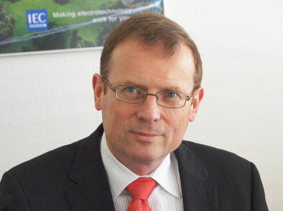 Frans Vreeswijk, secretary general and CEO of IEC