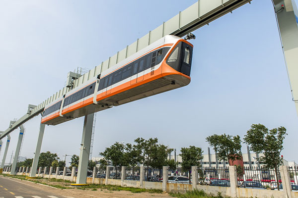 Monorail prototype unveiled