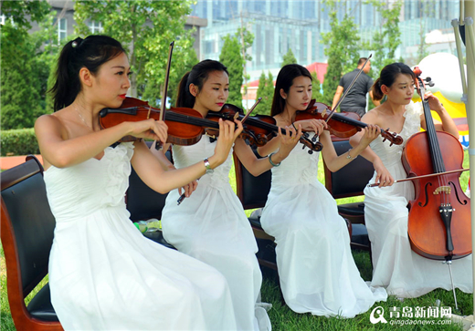Laoshan spruced up for worldwide revelers