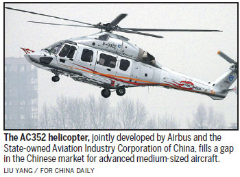 Overseas makers to cash in on strong helicopter demand