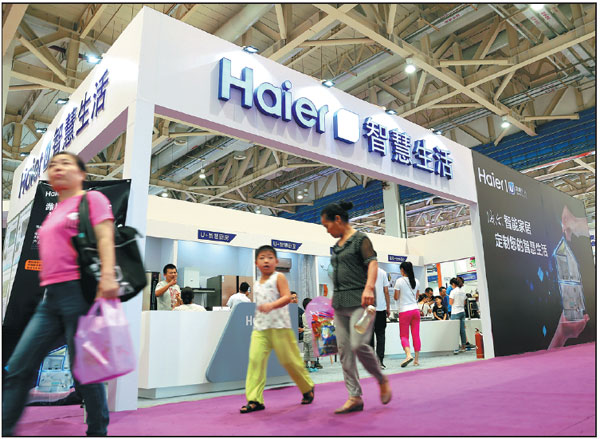 Haier moves to upgrade its products