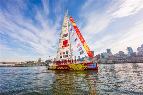 Qingdao claims first Clipper Race win