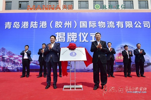 Qingdao Port, Jiaozhou City deepen cooperation