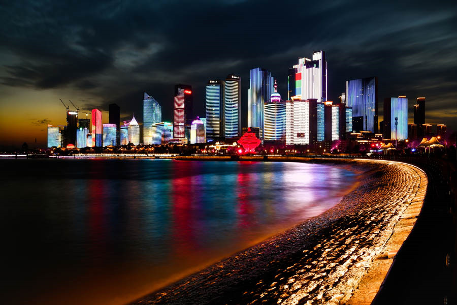 Qingdao, a city of old and modern