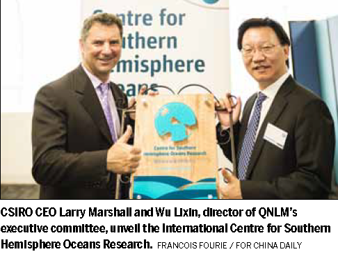 Centre helps research into southern oceans